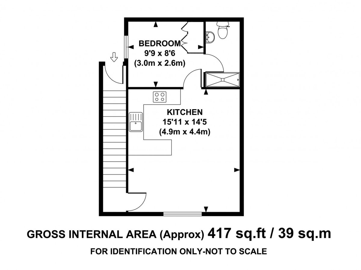 1 bedroom  Apartment to rent in Wing - Slide 8